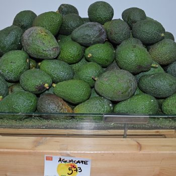 Check out La Zanahoria's fresh avocados
