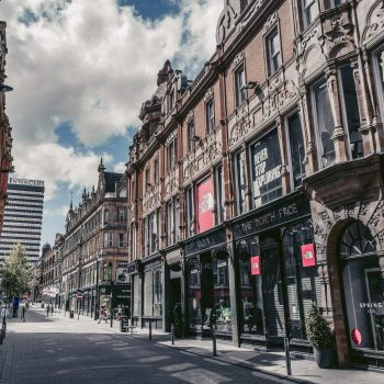 A street in Leeds.