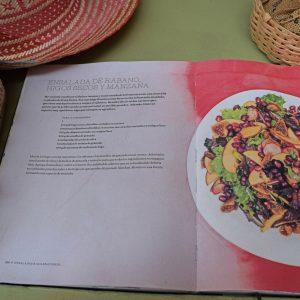 The Llevame al Huerto menu