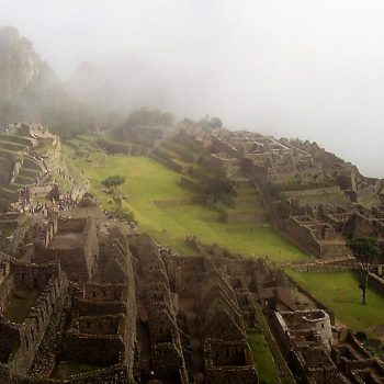 Machu Picchu in the clouds, one of the best things to do in Peru.