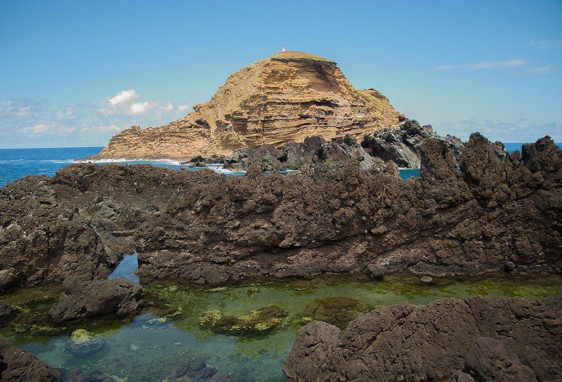 Madeira Porto Moniz Lava