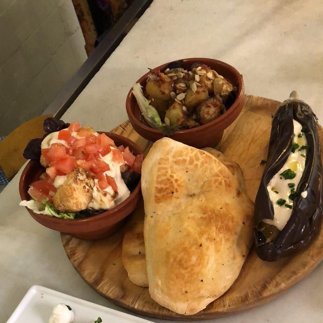 Vegan Tapas in Madrid