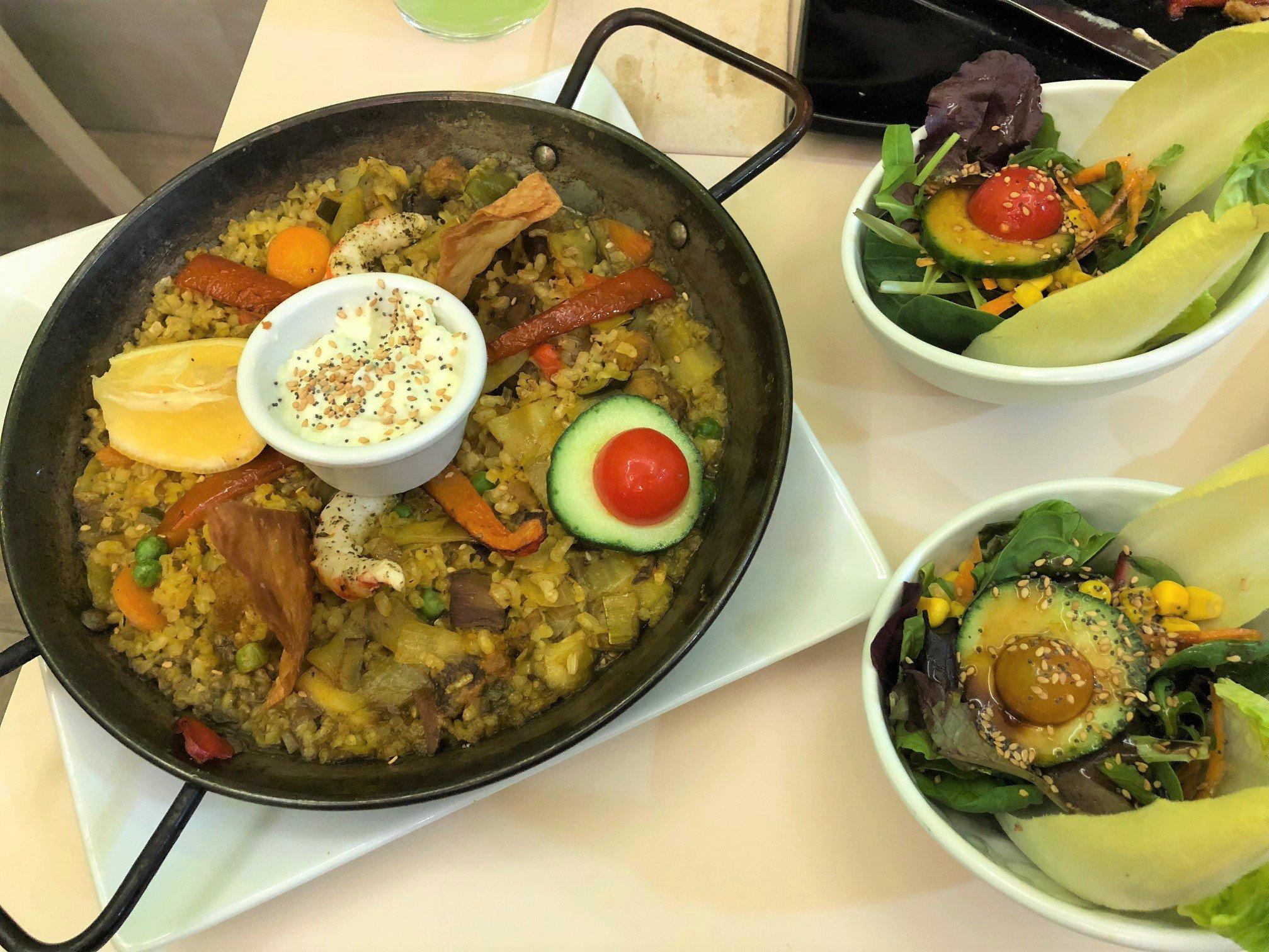 What better way to explore vegan travel than with vegan paella?