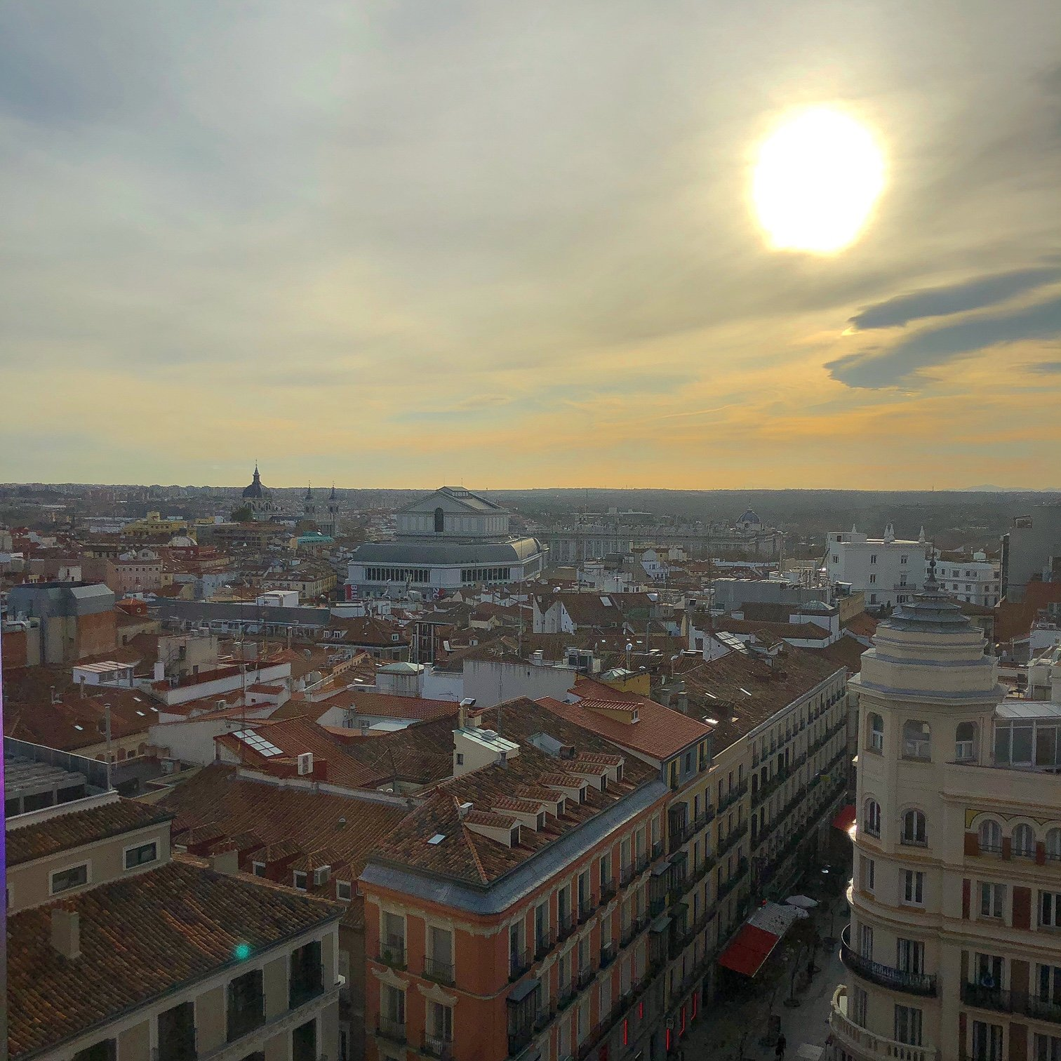A view of Madrid