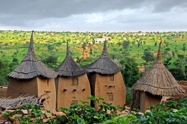 A settlement in Mali