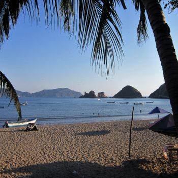 A photo of a serene beach in Melaque