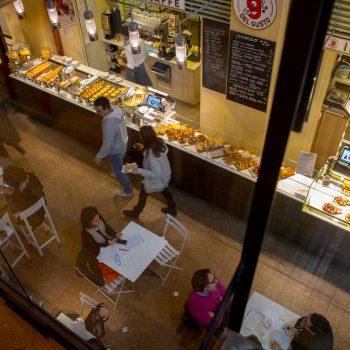 Venture into the Mercato di Mezzo for delicious food