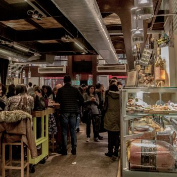 The Mercato di Mezzo has some of the best food in town
