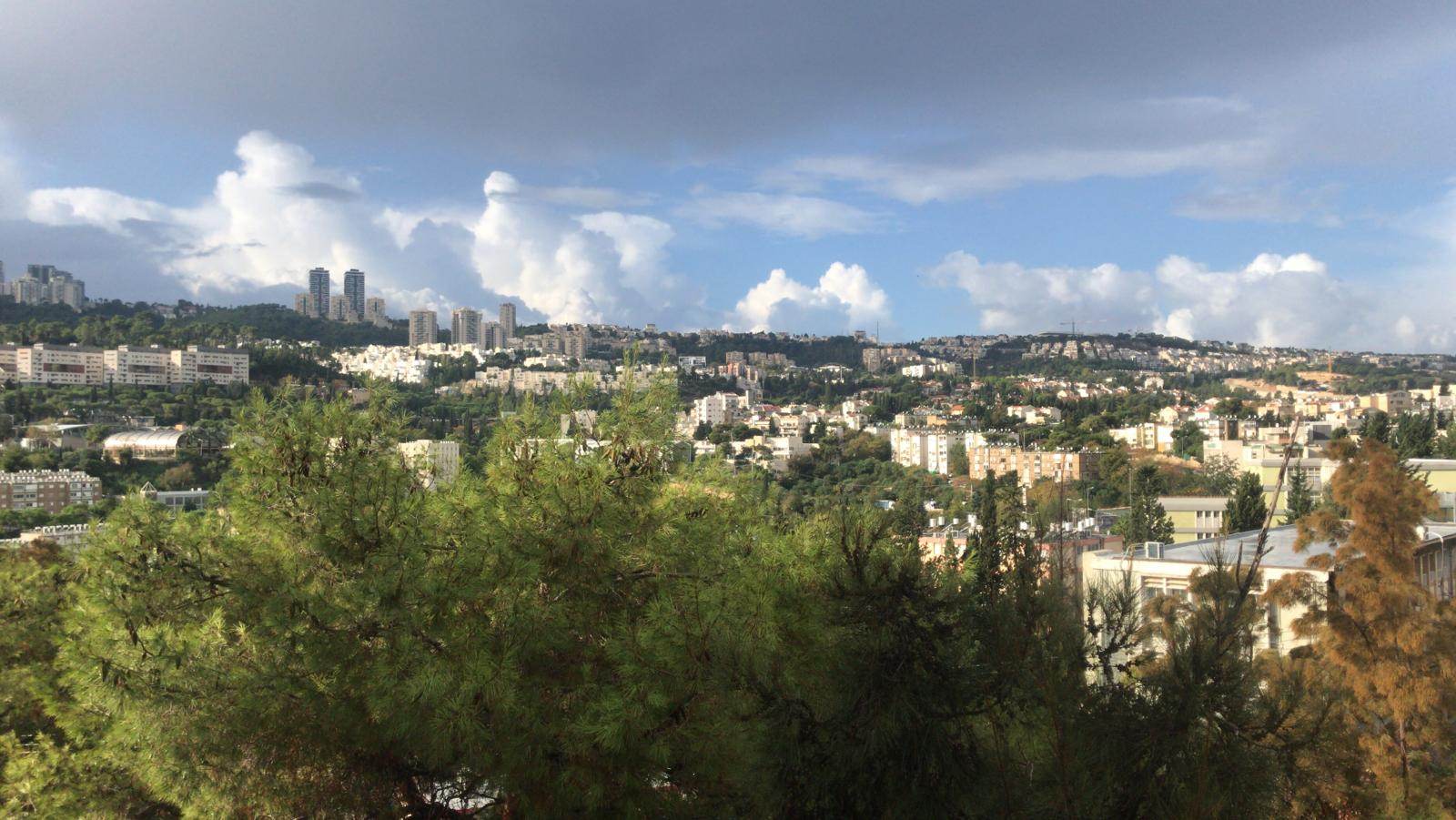 Mt. Carmel in Haifa, Israel, one thing to consider when weighing the study abroad advantages and disadvantages