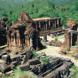 Ruins of the My Son Temple.