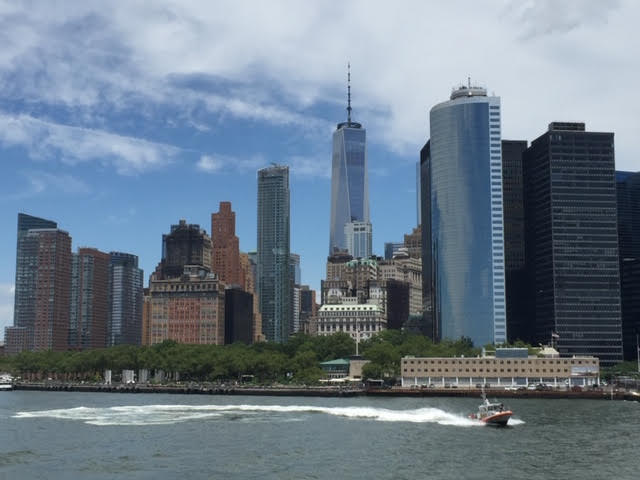 An image of New York City from the River, provided by the Top Ten Travel writer