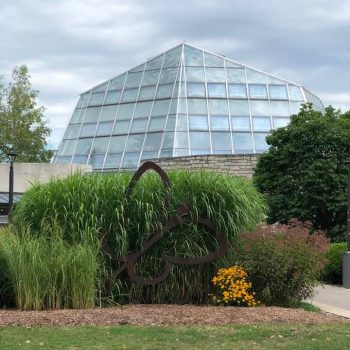A photo of the Butterfly Conservatory.