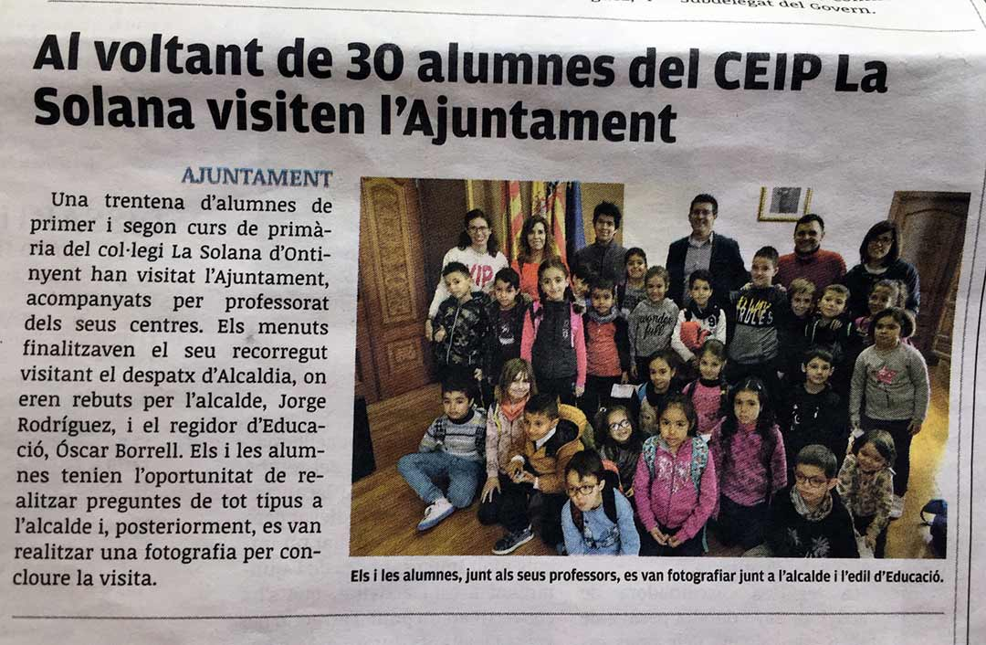 Ontinyent newspaper