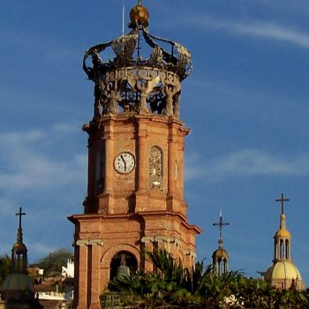 A church in Puerta Vallarta