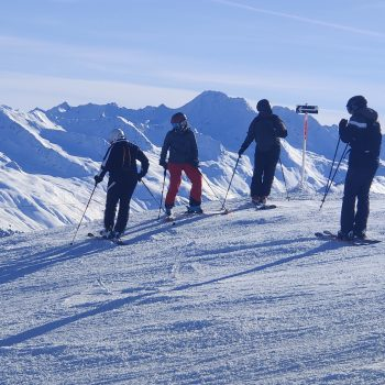 Swiss Pandemic Skiing