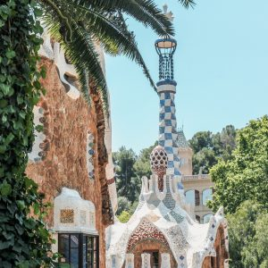 A tower in Parc Guell