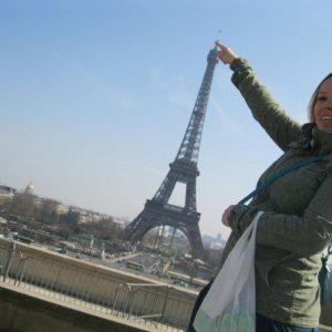 Kristen in Paris
