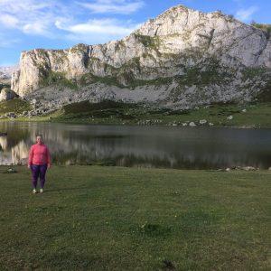 Kristen exploring the Picos de Europa