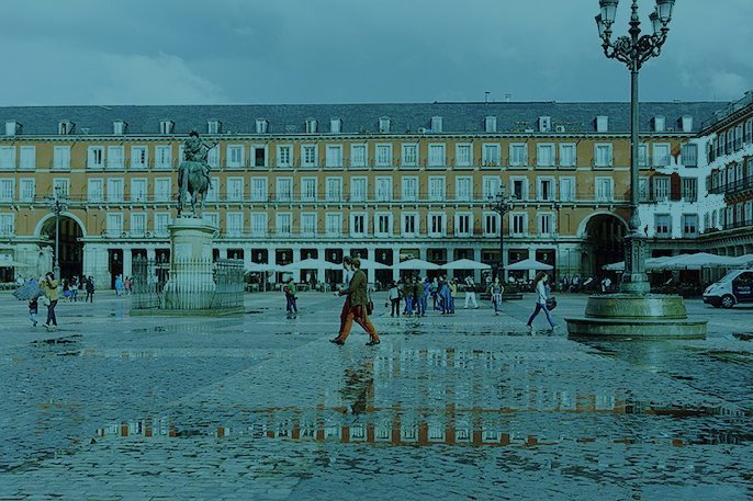 Plaza Mayor Madrid Michael Todd