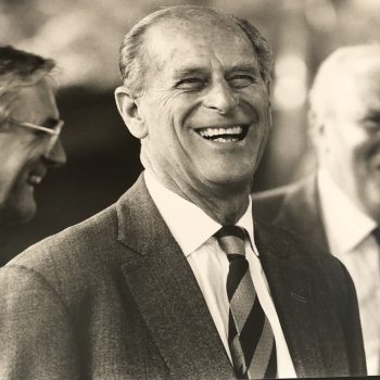 Prince Philip, recently deceased. Photograph by Sarah Frost