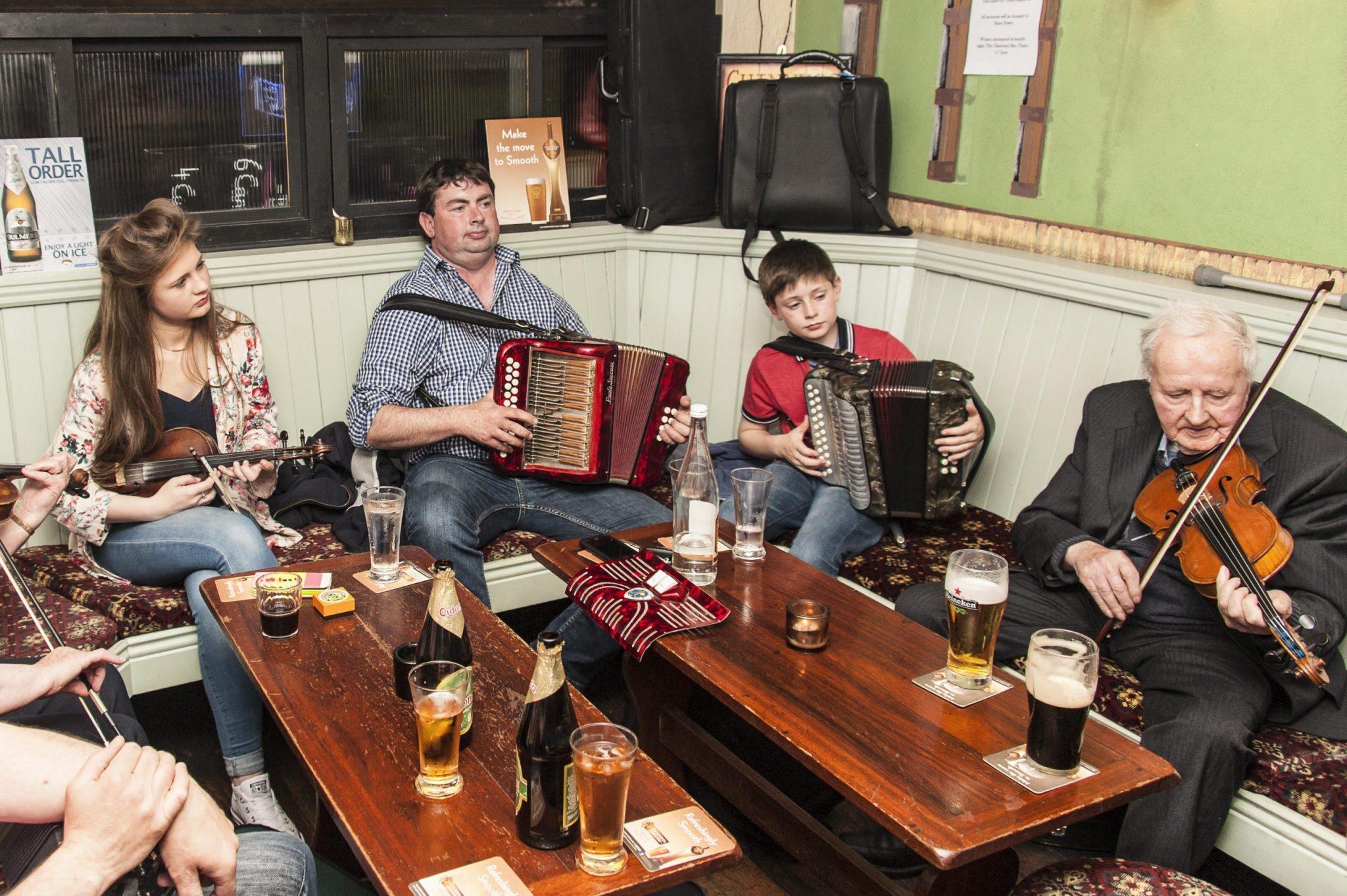 Irish bars and their thriving music scene