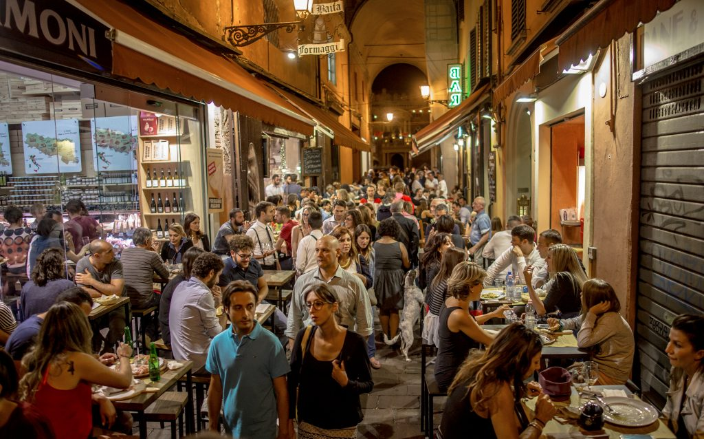 Visit the Quadrilatero for some great food options