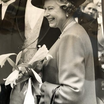 Queen Elizabeth II, Britain's favorite royal. Picture by Sarah Frost