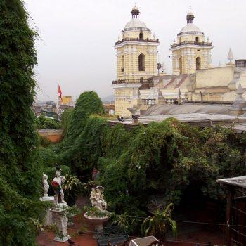 Hotel Espana's roof patio