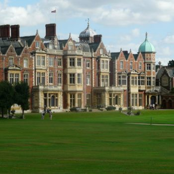Sandringham House in Britain