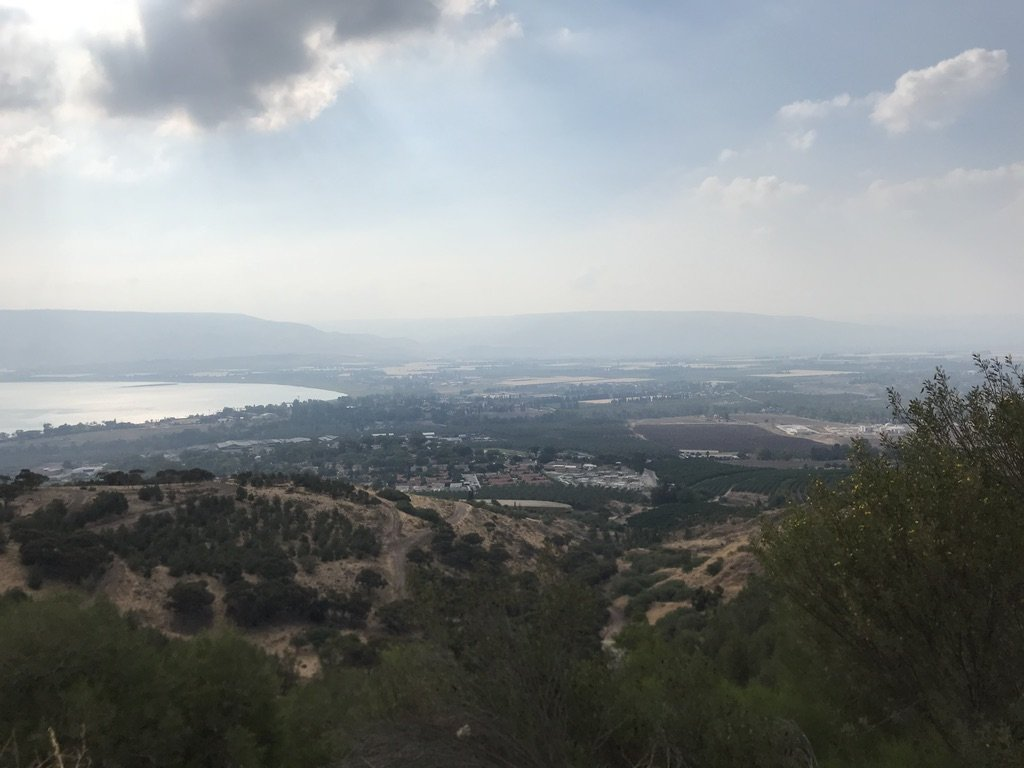 The Sea of Galilee, one of the study abroad advantages and disadvantages