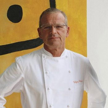 The Seaside Grand Hotel Residencia in Gran Canaria's German head chef, Wolfgang Grobaeur.
