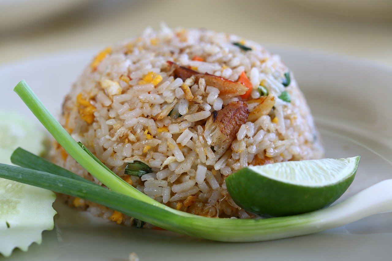 Singaporean fried rice