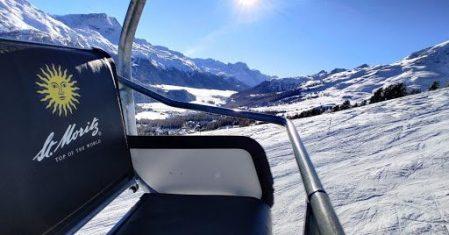 The St. Moritz ski lift.