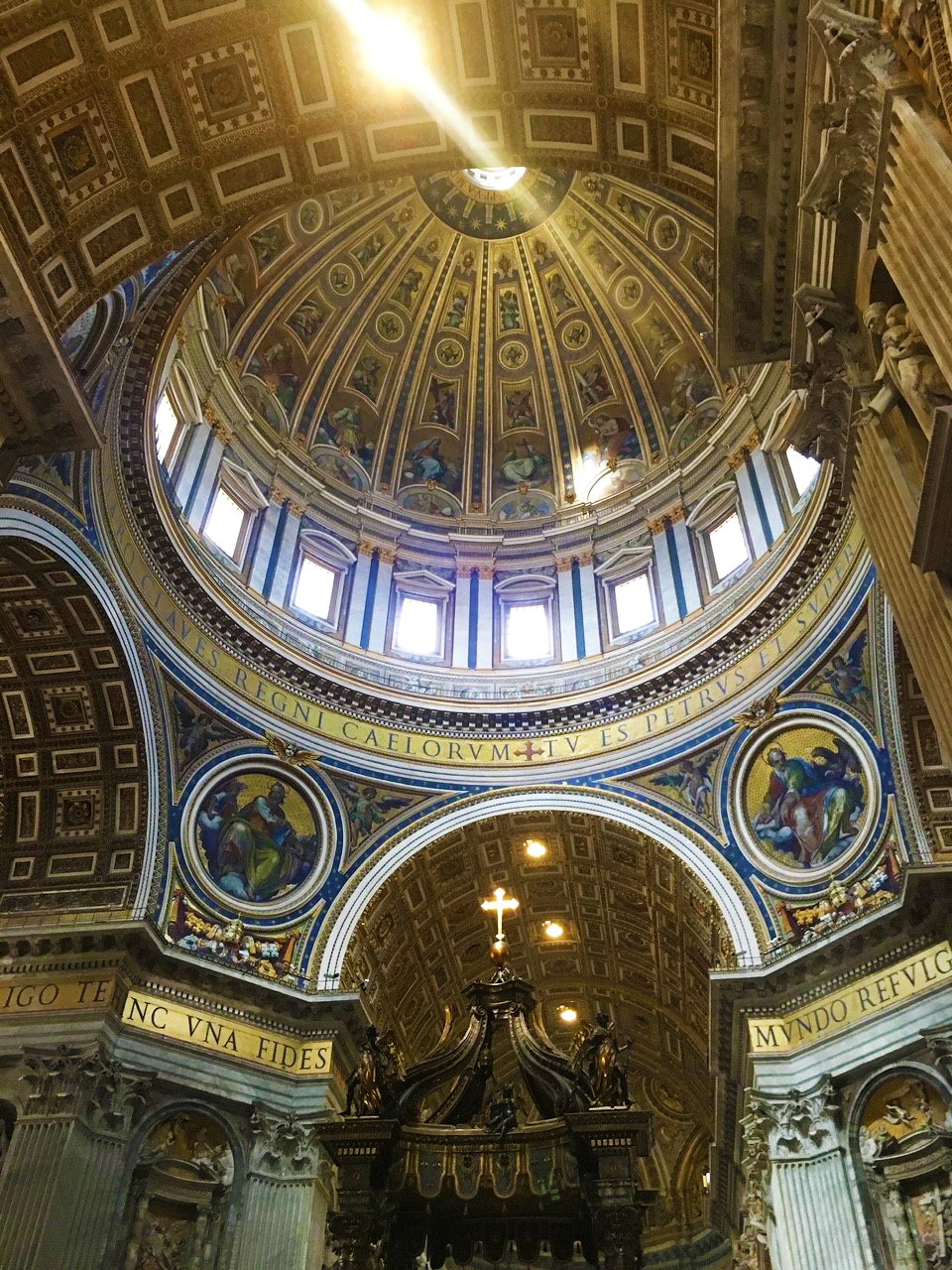 The Dome in St. Peter's Basilica, Vatican City