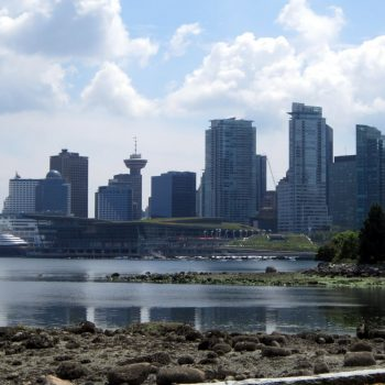 A photo of Vancouver from Stanley Park