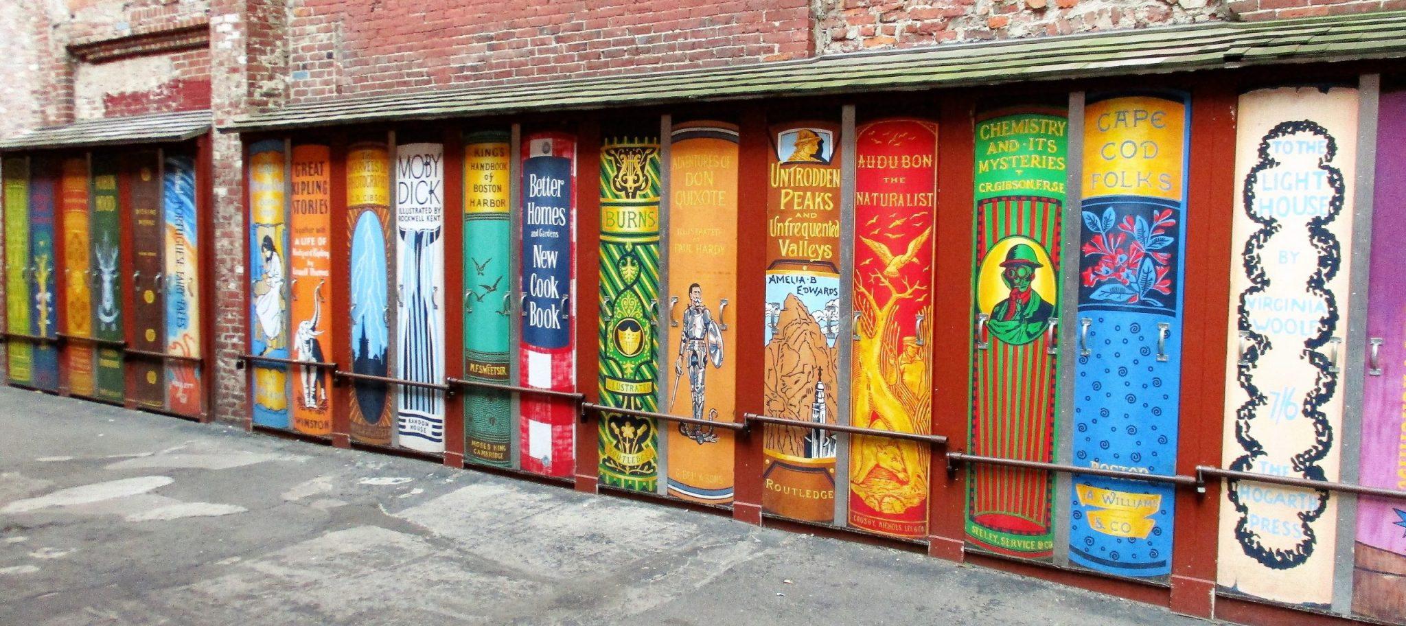 A photo of street art in Boston.