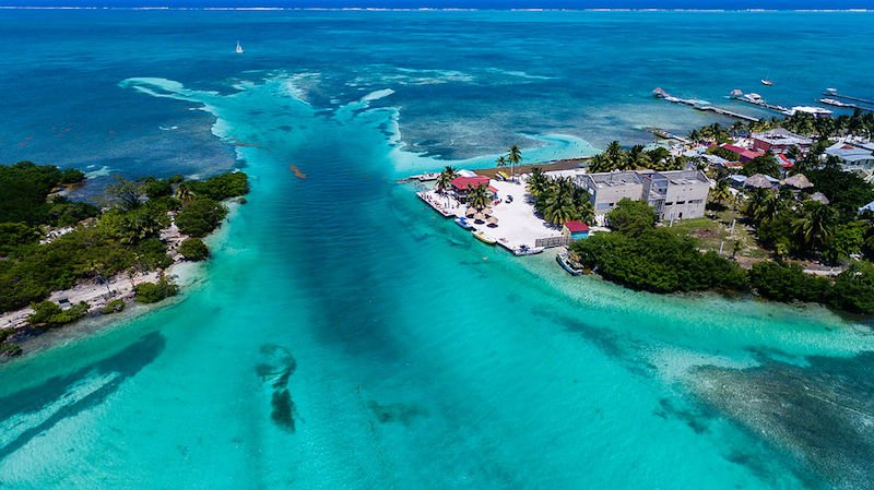 The Split in Caye Caulker, Belize