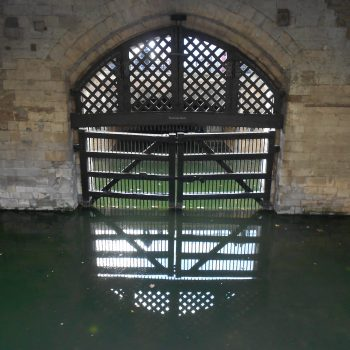 Traitors' Gate, Tower of London in Britain