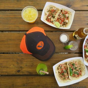 Some tacos and a hat from Vagon
