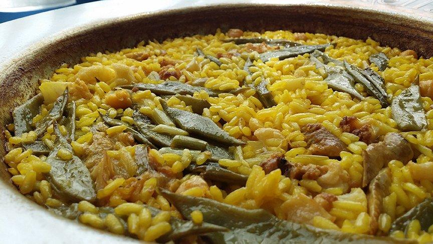 Valenciano paella