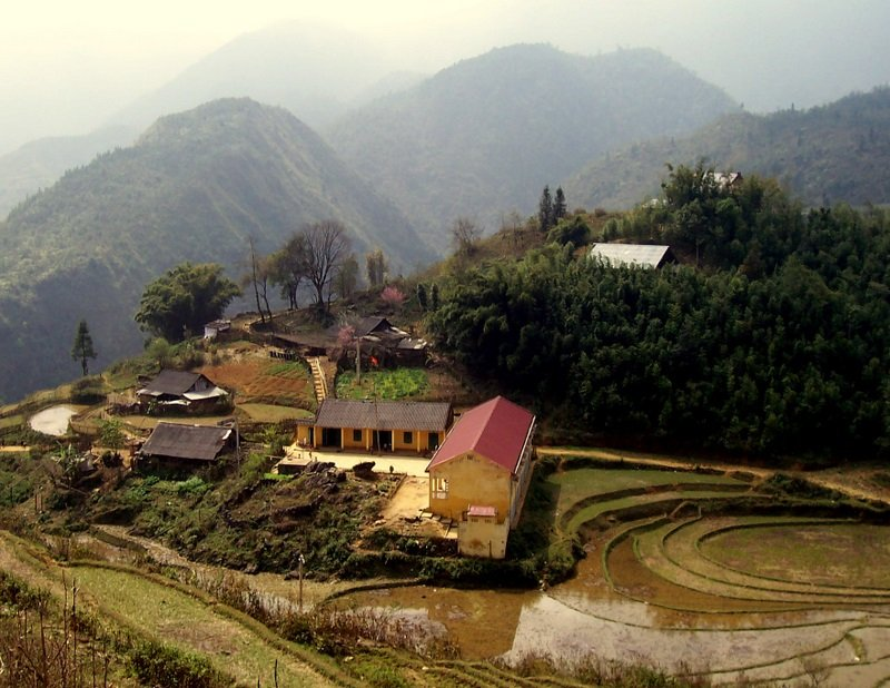 A view of the valley, one of the many reasons to visit Sa Pa