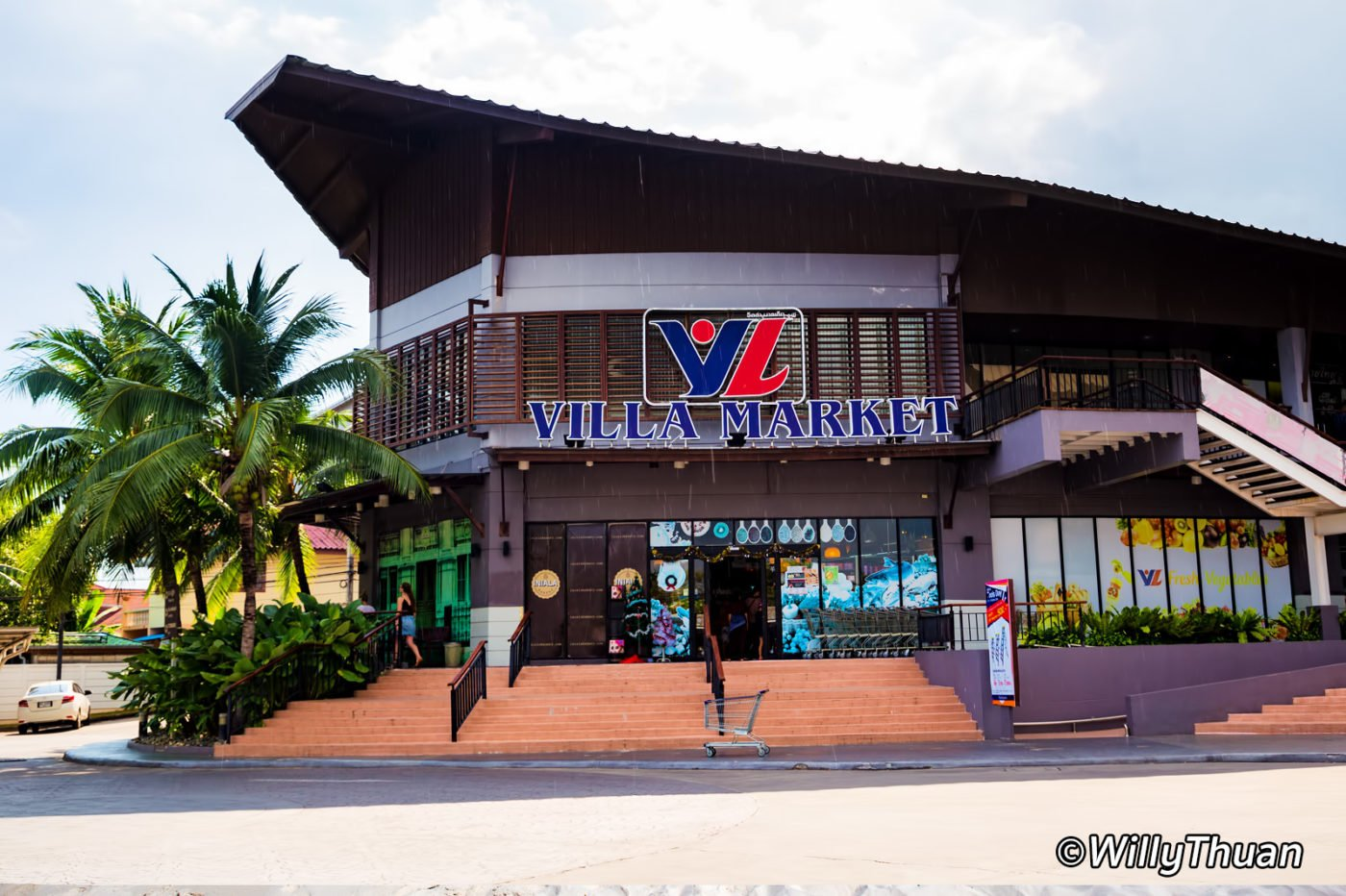 Villa Market in Phuket, where Diego gets his Italian cuisine