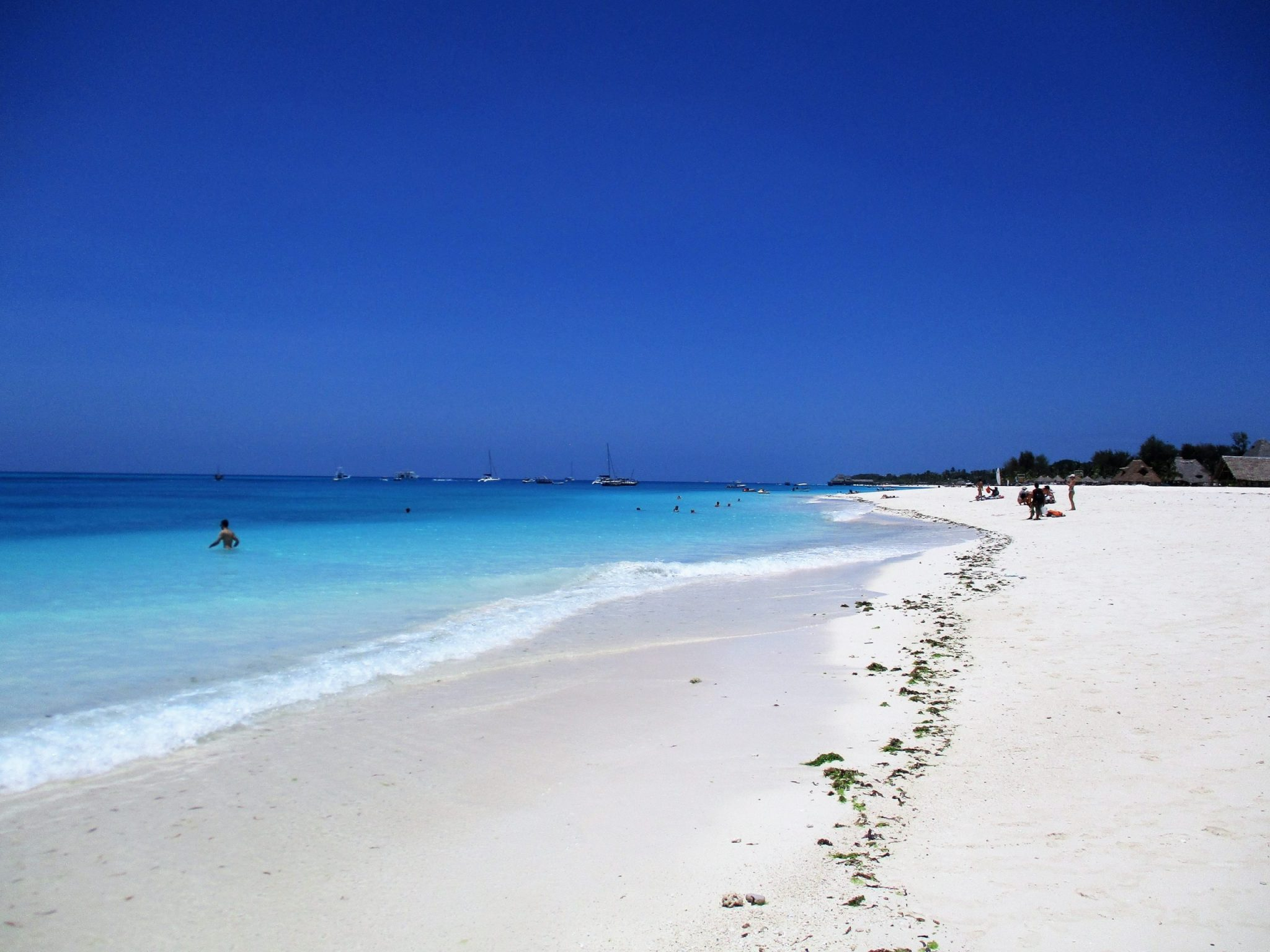 The Beach - one of the best reasons to visit Zanzibar
