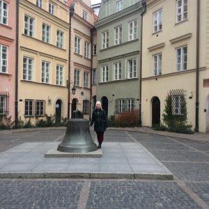 Kristen in Warsaw