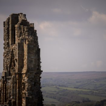 The Whitby Abbey in northern York Moors