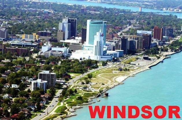 A photo of Windsor, where Ed Gagnon lives.