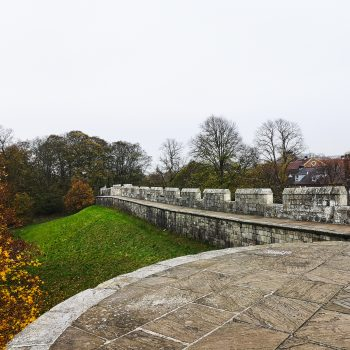 The walls of York.