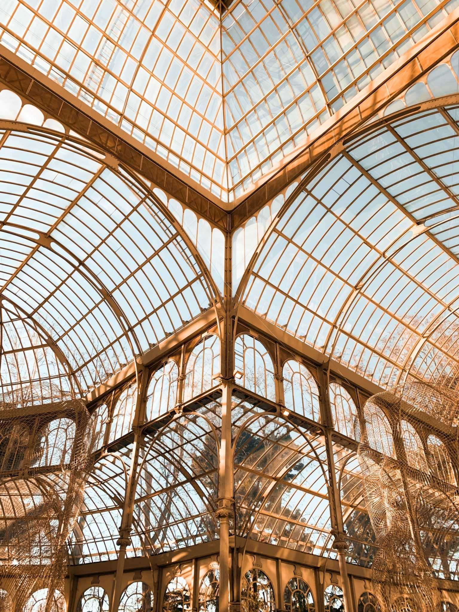 A photo of the Palacio de Cristal in Madrid, one of the perks Timisha experienced after she moved to Spain.