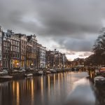 A picture of Amsterdam, the Netherlands, where Ajay's L'Oreal internship is located.