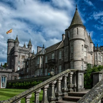 Balmoral Castle in Britain